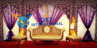 wedding backdrop gallery wedding stage embroidered backdrop dst international