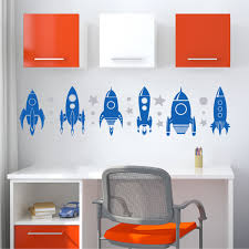 Boy Nursery Wall Decals by Rockets To The Moon Wall Quotes Art Decal Wallquotes Com