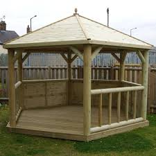 Wood Gazebo Design by Plans Timber Gazebo Kits Outdoor Design Home Ideas