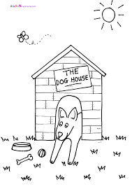 cat dog coloring pages for kids birthday party pictures to color