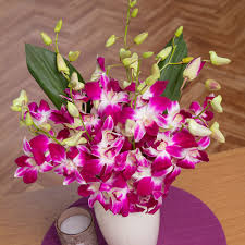 oriental orchids bouquet oriental dendrobium orchids by post