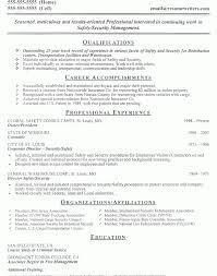 Security Guard Resume Template Download Security Guard Resume Sample Haadyaooverbayresort Com