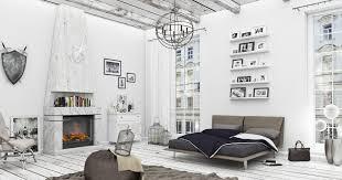 scandinavian bedroom 3d model cgtrader