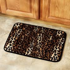 leopard decor for living room bedroom ideas cheetah home snow