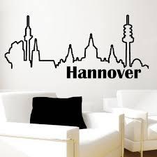wandtattoo hamburg skyline fußball fanshop wandtattoos hsv