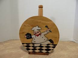 Kitchen Chef Decor by Chef Paper Towel Holder Towel