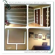 Football Room Decor Football Themed Room Decor Best Rooms Ideas On Sports Boys