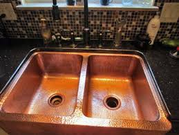 Sealant For Kitchen Sink by Prevent Tarnish Watermarks And Patina On Copper And Brass Sinks