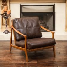 Leather Arm Chairs Brown Leather Chair U2013 Helpformycredit Com