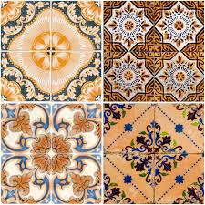 spanish floor tiles colorful vintage ceramic tiles wall decoration