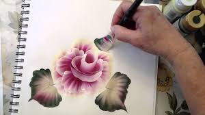 one stroke painting how to use the angle brush m4v youtube
