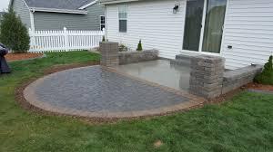 paver patios u0026 retaining walls u2013 mgb landscaping u0026 grading llc