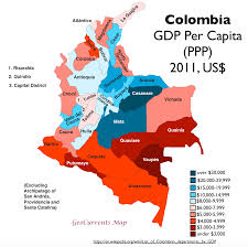 Columbia South America Map by Oil Coal And Economic Development In Colombia Geocurrents