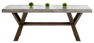concrete top dining table concrete top dining table dining room ideas