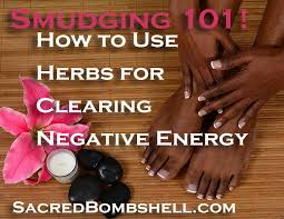 smudging how to use herbs for clearing negative energy