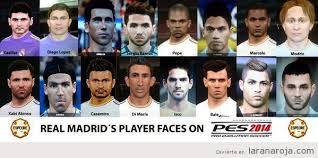 imágenes del real madrid graciosas los caretos de los jugadores del real madrid en el pes 14 qué
