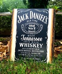 jack daniels home decor photo on wood transfer your favorite pictures directly onto wood