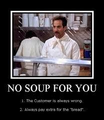 Soup Nazi Meme - soup nazi rolls the seinfeld food truck into boston