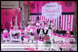 Paris Themed Party Supplies Decorations - ooh la la paris theme girls party ideas in pakistan