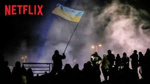 Flag On Fire Winter On Fire Netflix Powerful Documentary On Ukraine Diane
