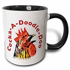 doodle doo india buy 3d mug 44512 4 a doodle doo rooster two tone black