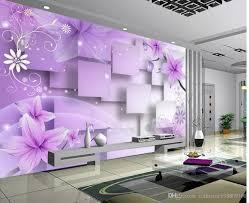 photo customize size 3d purple warm flowers tv wall mural 3d photo customize size 3d purple warm flowers tv wall mural 3d wallpaper 3d wall papers for