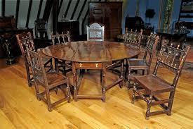 large oak gateleg table circa 1700