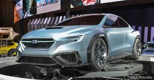 subaru concept cars tokyo 2017 subaru viziv performance next wrx