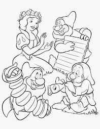 snow white coloring pages printable affordable disney coloring