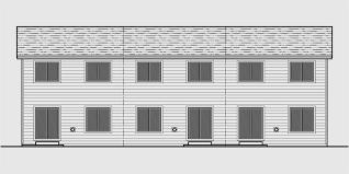 home plans open floor plan triplex plans with basement row house plans open floor plan