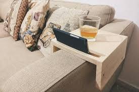 couch arm coffee table sofa arm table tv tray armrest side tablecouch table phone