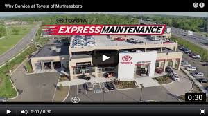 toyota of toyota of murfreesboro car service and coupons