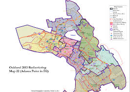 Oakland Map Communities Of Interest U0027 At Forefront Of Redistricting Talks