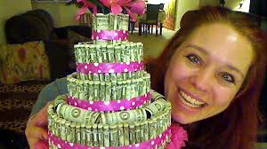 how to make a money cake youtube