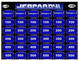 Jeopardy Template Powerpoint Business Template Ideas Jepordy Template