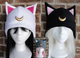 luna artimus diana luna p sailor moon hat fleece hat
