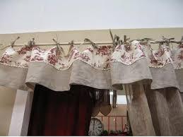 tende con mantovana per cucina gallery of tende per cucina rustica on line il meglio design