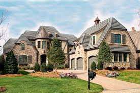 plan 17691lv french country manor architectural design house