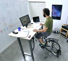 Diy Bike Desk Stationary Desk Bike Wahoo Fitness Bike Desk 1 Fit Desk Stationary