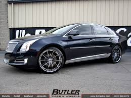 cadillac xts wheels cadillac xts with 22in asanti cx193 wheels exclusively from butler