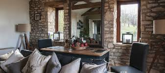 cotswolds holiday cottages luxury modern rooms colorful design