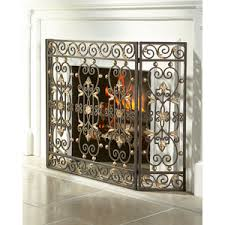 Single Fireplace Screen by Fire Screens Shop For Fire Screens On Polyvore