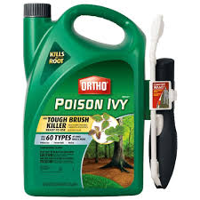 ortho max poison ivy and tough brush killer 1 33 gal comfort wand