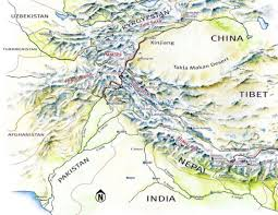 Himilayas Map Map Of Asia Himalaya Mountains You Can See A Map Of Many Places