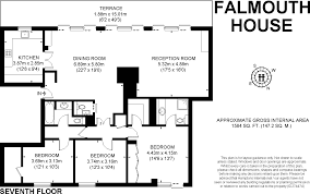 3 bedroom apartment for sale in falmouth house clarendon place