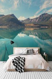 66 best wall art images on pinterest bedroom ideas home and live this stunning wallpaper creates a dramatic focal point in a beautiful restful bedroom space