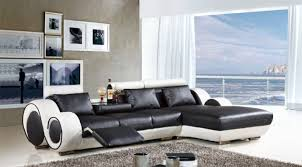 White Leather Recliner Sofa Rare Knightsbridge Luxury Faux Leather Sofa Bed With Storage