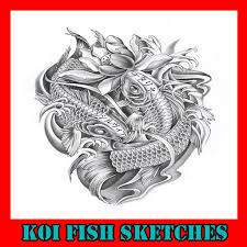 koi fish sketches android apps on google play