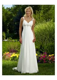 summer wedding dresses cheap v neck with princess skirt chiffon summer wedding dress
