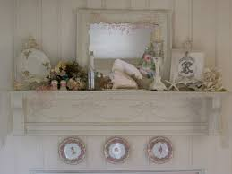 shabby chic beach decor mantel of the month enchanted treasures shabby chic romantic